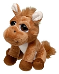 Horse Bright Eyes Plush