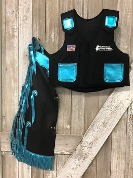 Kid's Rodeo Chap/Vest Combo