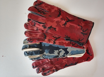 Ambush Leather Bull Riding Glove