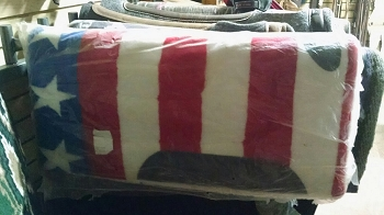Patriotic Saddle Pad