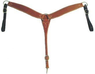 Leather Latigo Breastcollar