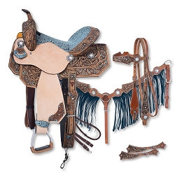 Skylar Collection 5 Piece Saddle Package