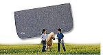 WOOL FELT PONY PAD