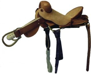 Bronc Saddle Roughout