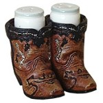 Cowboy Boots Salt and Pepper Set