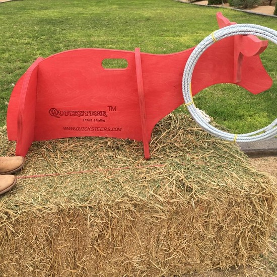 JR Quicksteer Roping Dummy with Rope