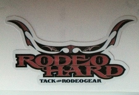 Rodeo Hard Helmet Decals