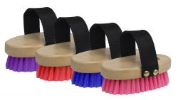 Showman Junior Med Bristle Brush