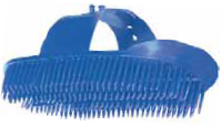 Molded Poly Wash Brush with Adjustable Hand Strap