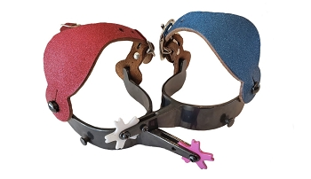Youth Spur Package with Glitter Spur Straps