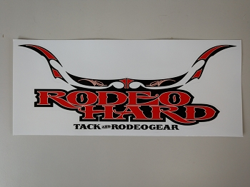 Rodeo Hard Bumper Sticker