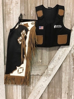 Junior Rodeo Chap/Vest Combo