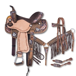 Naomi Collection 5 Piece Saddle Package