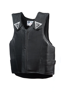 Phoenix Bull Riding Leather Vest Pro-Max Rodeo Vest