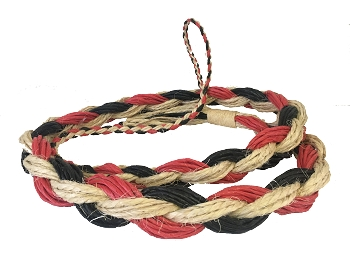Rodeo Hard Saddle Bronc Reins 1/2 & 1/2