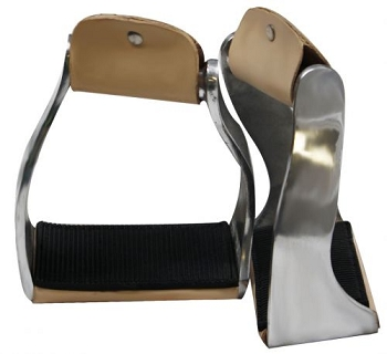 Lightweight Twisted Angled Aluminum Stirrups