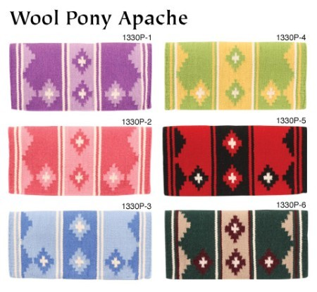 Wool Pony Apache Saddle Pad