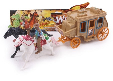 Stagecoach w/Horses