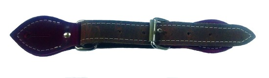 Rough Stock Latigo Leather Spur Strap